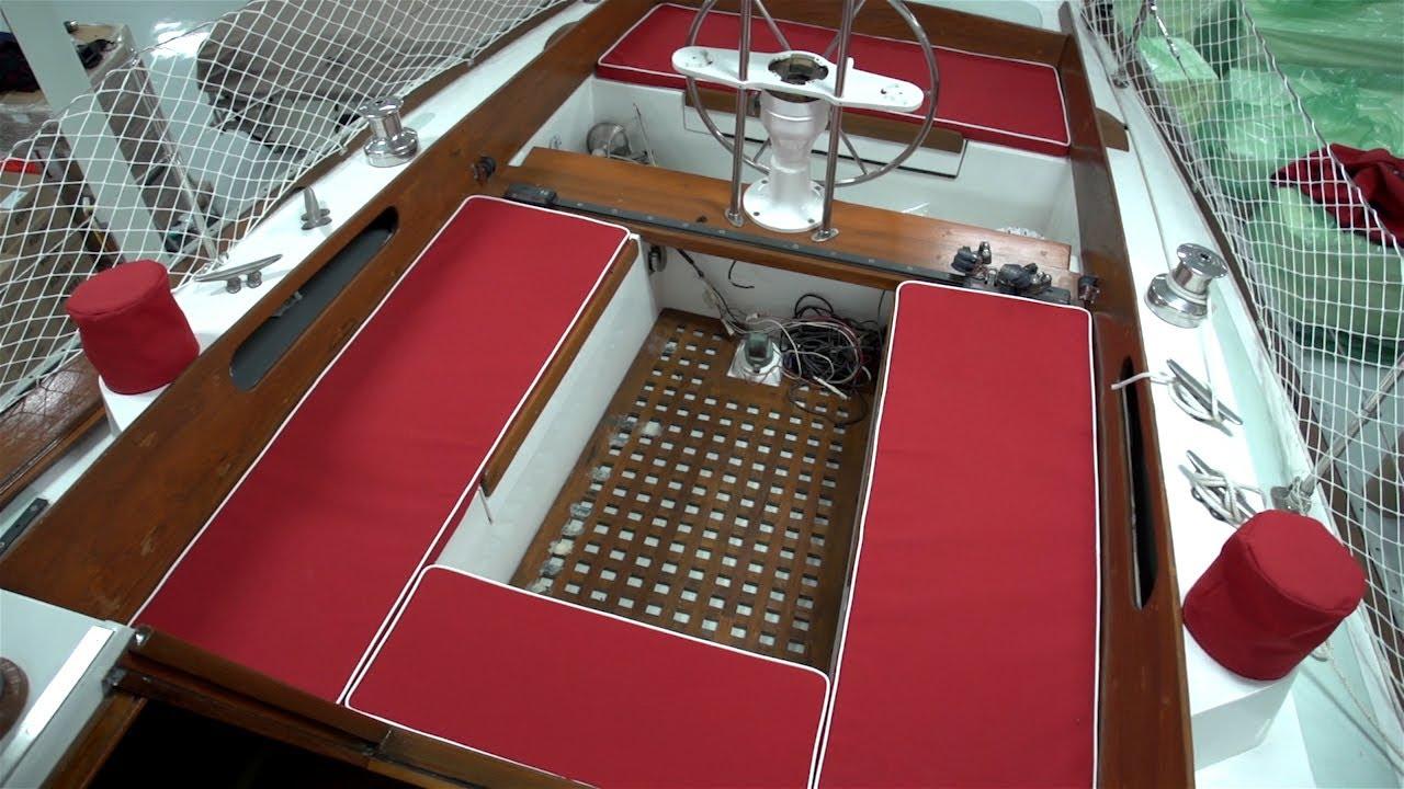 kussens laten maken voor uw boot abb meubelstoffeerder