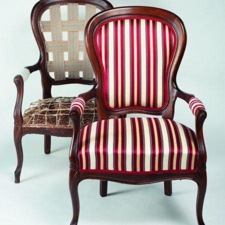 Super Uw stoel opnieuw laten stofferen? ABB Meubelstoffeerder Alkmaar &FS76